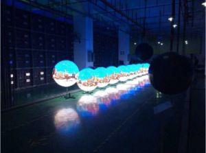 단계 전람을%s P6 실내 옥외 LED 공 전시 화면