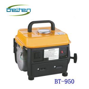 Bt 950 650W 휴대용 가솔린 발전기
