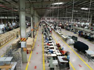 Estructura de acero Antivibration taller económico sistema de caja
