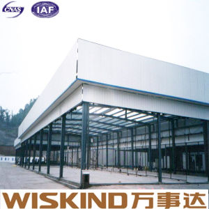 Larga vida útil de almacén/taller de diseño profesional Estructura de acero de la luz