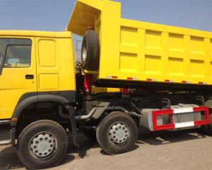 건축 차량 Sinotruk HOWO 8X4 40t-50t 팁 주는 사람 쓰레기꾼 트럭 가격