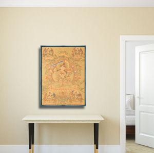 2017ホーム装飾のための新式のHDの抽象的な肖像画の油絵の壁の芸術映像