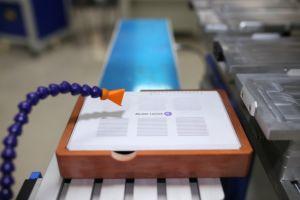 소형 Logo Printing Machine 또는 Ink Cup를 가진 Manual Pad Printer