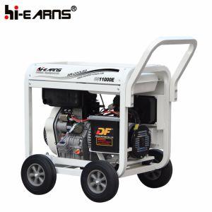 Tipo de estrutura aberta Air-Cooled gerador diesel de 8 kw (DG11000E)
