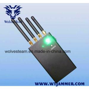 4 GPS van de band 4W de Draagbare Stoorzender van het Signaal van de Telefoon van de Cel