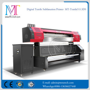 Mt macchina diretta della stampante di getto di inchiostro di stampa del tessuto della stampante della tessile dei 1.8 tester