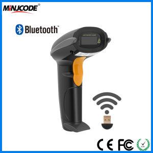 La tecnología inalámbrica Bluetooth 4.0 dispositivo lector de códigos de barras, lector de códigos de barras láser, el soporte móvil Android, iPhone, iPad, PC, MJ2810 Ventana