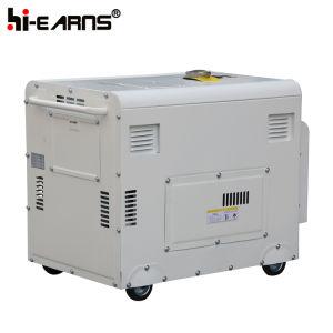 Gruppo elettrogeno diesel raffreddato ad aria a tre fasi (DG8500SE3)