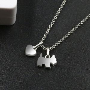 方法宝石類のステンレス鋼の動物の銀製のネックレス