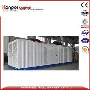 1250kw容器のタイプ電気の発電機のディーゼルへのCummins 1000kw