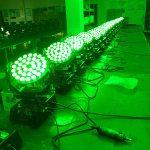 DJ Fase 36x12W RGBW 4en1 luces LED moviendo la cabeza