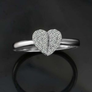 La Chine l'anneau de mode de gros de Bijoux Bijoux en argent Sterling 925