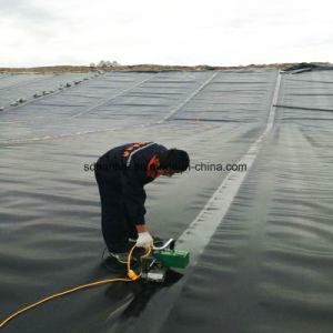 エビの池に使用するHDPEシートの防水膜