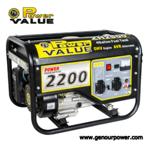 Potencia máxima de 5.5HP 2.3KW generador de corriente alterna