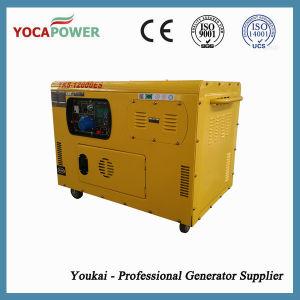 10kVA空気によって冷却される無声ディーゼル発電機セット