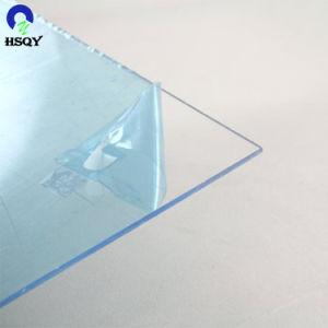 Super PVC transparente de alta calidad resistente al agua hoja con la película PE