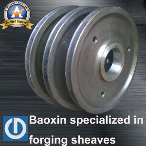 최신 판매 기중기 강철 반지는 Sheave를 위조했다