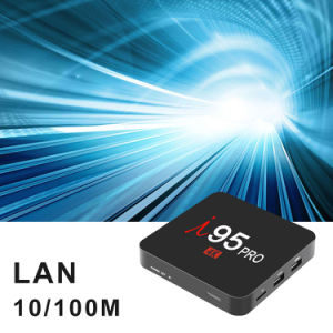 Spitzenkasten I 95 PRO einstellen plus Felsen-Chip Rk3229 2GB RAM/16 GB-ROMAndroid 7.1 Ott Fernsehapparat-Kasten