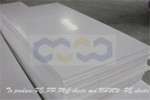 Une forte résistance au choc PP plaque en plastique pour l'équipement industriel
