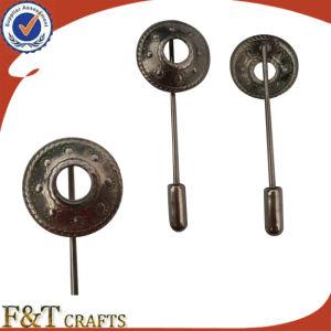 方法Hot Sales Plating Antique Tin Metal Long Needle Lapel PinかLapel Pin Manufacturers中国またはLapel Pin