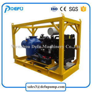 Alta eficiência de 8 polegadas de bombas de Pasta Líquida do Motor Diesel