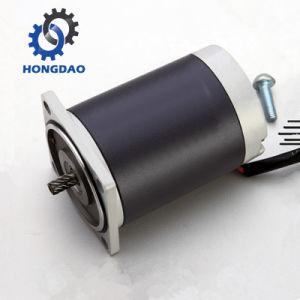 Motor de engranajes planetarios de DC de 10W para bomba_D