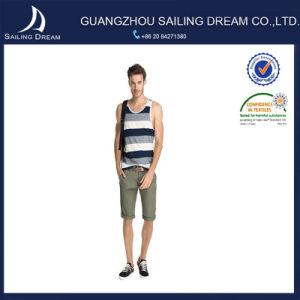 Pantaloni di Shorts poco costosi di colore del commercio all'ingrosso del cotone diritto sottile puro di misura