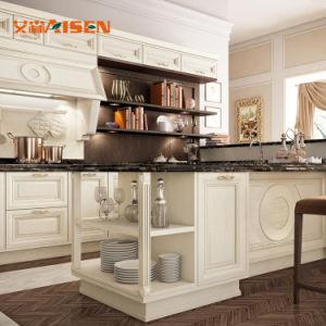 Houten Keukenkasten van de Luxe van het Ontwerp van de Stijl van Amerika de Nieuwe Klassieke