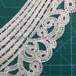 Collare accessorio del merletto del ricamo del nastro del tessuto di cotone dell'indumento della nappa del Crochet