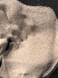 0.5mm白い水晶砂または水晶砂またはケイ素の砂か無水ケイ酸の砂