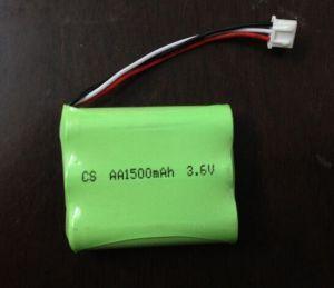 잔디 스크린 램프를 위한 NiMH 건전지 팩 3*AA1600mAh 3.6V