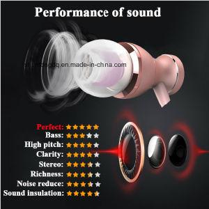 Наушники-вкладыши наушники со встроенным регулятором магнитного ясности стерео звук с микрофона для iPhone мобильного телефона в формате MP3 и MP4 наушников