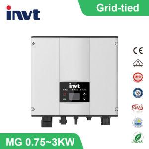 Invertitore di PV legato griglia di monofase del magnesio 0.75watt/1kwatt/1.5kwatt/2kwatt/3kwatt di Invt