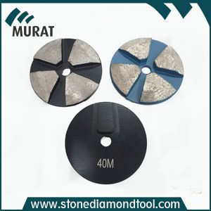 3 disco di molatura concreto del diamante di segmento di pollice quattro per la macchina di Terrco