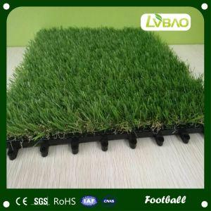 Mattonelle artificiali atletiche Sporting dell'erba del tappeto erboso con il forte gambo