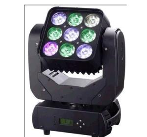 3X3 9pcsx10W RGBW LED 4in1 Erschütterung-Kopf-Matrix-Licht