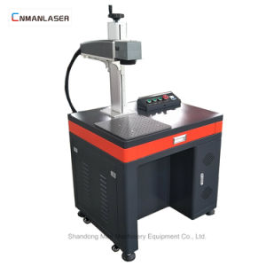 Kennsatzname-Platten-Faser-Laser-Markierungs-Maschinen-Preis des Metall20w