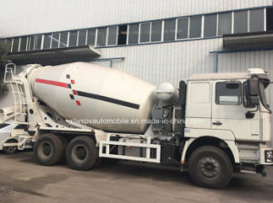 10m3 de cemento Shacman Drum camioneta 6x4 para la venta de camiones hormigonera