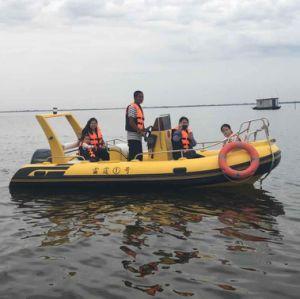 8 Passagier-Fiberglas-steifes aufblasbares Boots-/Military-Rippen-Patrouillen-Bewegungsboot/Rettungsboot