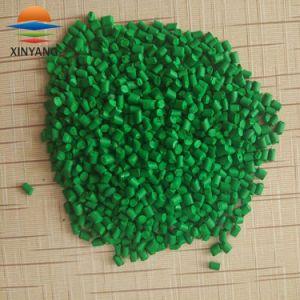 Зеленый цвет пластика Masterbatch для литьевого формования