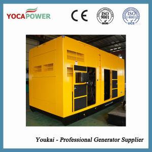 Silencio Sdec 700kw de potencia del motor diesel generador