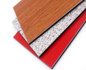 Construção ao ar livre de materiais de construção do preço do painel composto de alumínio