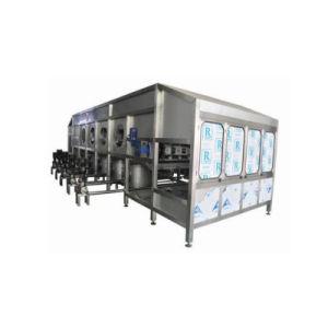 200b/h lavado Máquina Tapadora de llenado 5 galón de la línea de llenado de agua