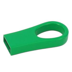 Зеленый цвет металлический диск USB Memory Stick™ Водонепроницаемый памяти Mini USB флэш-накопитель