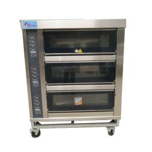 Oven van de Pizza van de Transportband van het Roestvrij staal van het Gas van Professinoal de Elektrische Openlucht
