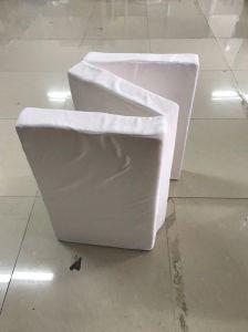 3 colchão de espuma dobrada para transporte fácil