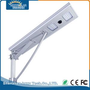 Водонепроницаемая IP65 40 Вт лампа освещения улиц на открытом воздухе солнечной светодиодного освещения