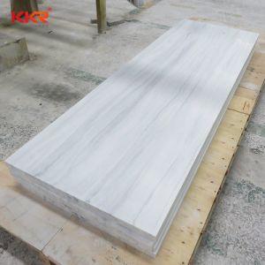 Superficie solida acrilica materiale di Corian del controsoffitto di marmo di sguardo