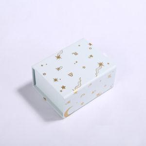 Kundenspezifischer gedruckter Büttenpapier-Geburtstag-Geschenk-Verpackungs-Kasten