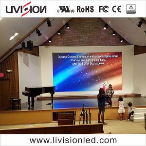 教会LEDビデオ壁パネルのための屋内P3.9 LED表示スクリーン